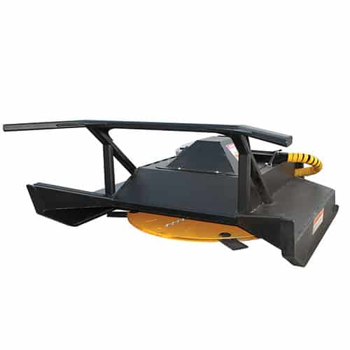 heavy duty brush mower tondeuse skid steer