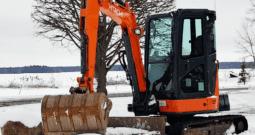 HITACHI ZX35   PELLE HYDRAULIQUE À LOUER AVEC OPÉRATEUR